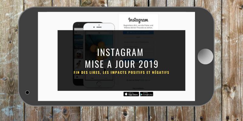 La fin des likes Instagram, Mise à jour 2019
